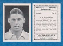 Bolton Wanderers Ray Westwood England 48